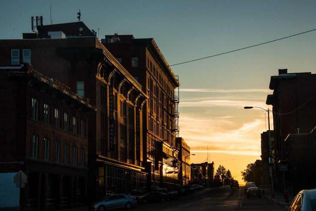 butte-montana-granite-street-sunrise